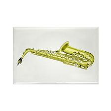 Saxophone Rectangle Magnet
