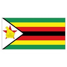 Flag Zimbabwe Poster