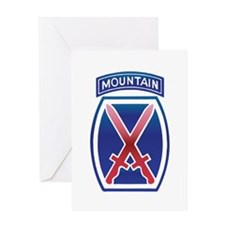 10thMountain Division Greeting Card