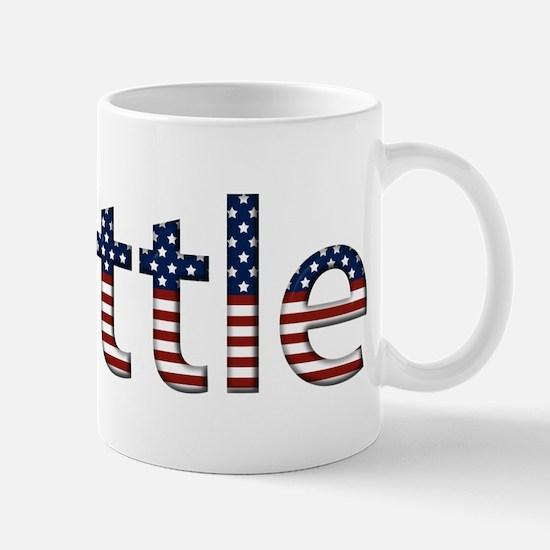 Seattle Stars and Stripes Mug