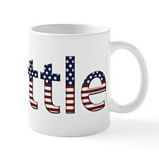 Seattle Stars and Stripes Small Mug