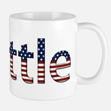 Seattle Stars and Stripes Small Small Mug