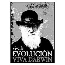 Viva Darwin Evolucion Poster