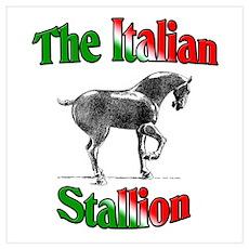 The Italian Stallion Poster