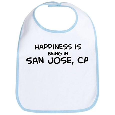 Happiness is San Jose Bib