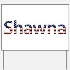 Shawna Stars and Stripes Yard Sign