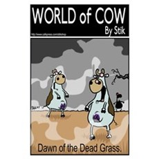 World of Cow Poster