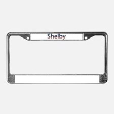 Shelby Stars and Stripes License Plate Frame