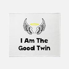 Good Twin Throw Blanket