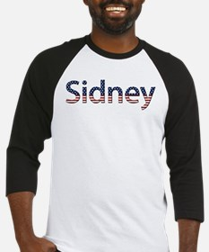 Sidney Stars and Stripes Baseball Jersey