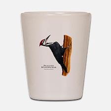 Pileated Woodpecker Shot Glass