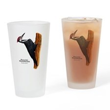 Pileated Woodpecker Drinking Glass