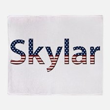 Skylar Stars and Stripes Throw Blanket