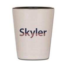 Skyler Stars and Stripes Shot Glass