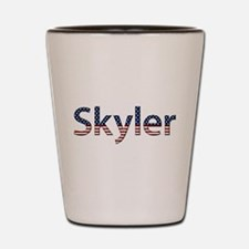 Skyler Stars and Stripes Shot Glass