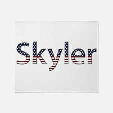 Skyler Stars and Stripes Throw Blanket