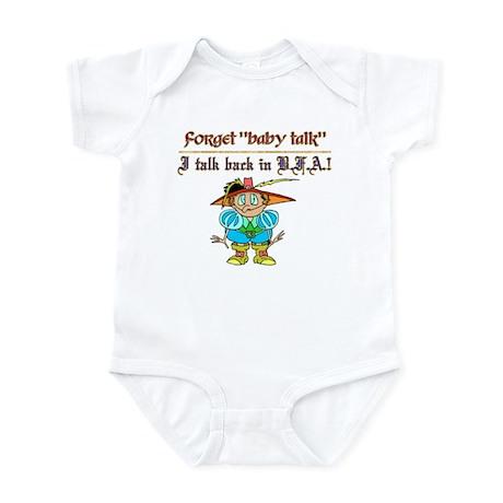 BFA BackTalk Infant Creeper