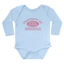 Property of Rebecca Long Sleeve Infant Bodysuit