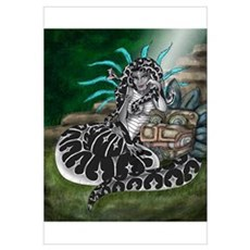 Feathered Serpent Framed Print