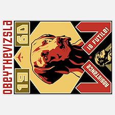 Obey the Vizsla! 1960 Framed Matted Print