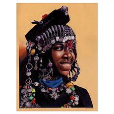 Bead Girl 14x10 Poster