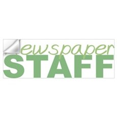 Newspaper Staff Wall Decal