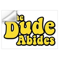 The Dude Abides The Big Lebowski Wall Decal