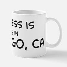 Happiness is San Diego Mug