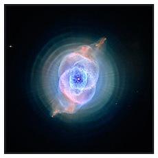 """Cat's Eye Nebula"" Poster"