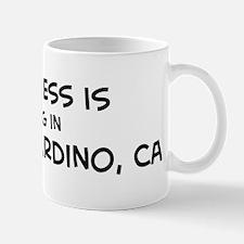 Happiness is San Bernardino Mug