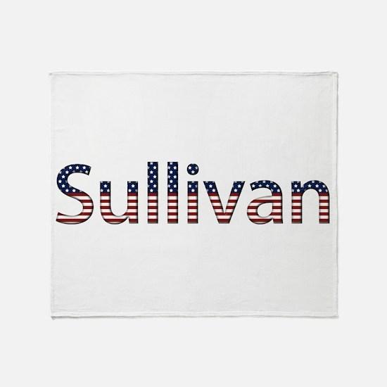 Sullivan Stars and Stripes Throw Blanket