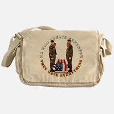 We Will Always Remember Messenger Bag