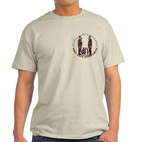 We Will Always Remember Light T-Shirt