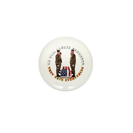We Will Always Remember Mini Button (10 pack)