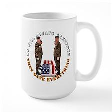 We Will Always Remember Mug