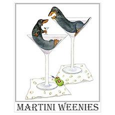 Martini Weenies Poster