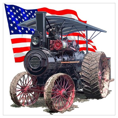 The Advance Steam Traction En Canvas Art