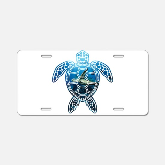 Cute Turtle ninja Aluminum License Plate