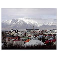 Reykjavik Blues Poster