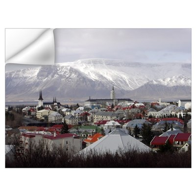 Reykjavik Blues Wall Decal