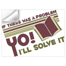 Yo! I'll Solve It Wall Decal
