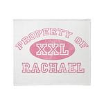 Property of Rachael Throw Blanket