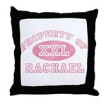 Property of Rachael Throw Pillow