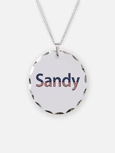 Sandy Stars and Stripes Necklace