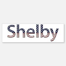 Shelby Stars and Stripes Bumper Bumper Bumper Sticker