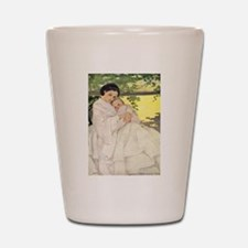 Mother and Child Shot Glass
