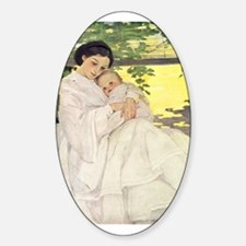 Mother and Child Decal