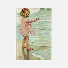 By The Ocean Rectangle Magnet (10 pack)