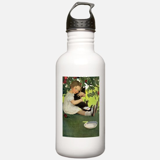 Love My Kitty Water Bottle