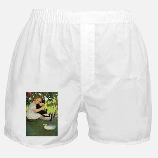 Love My Kitty Boxer Shorts
